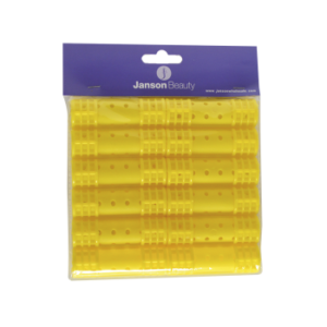 JB (HR002) Snap On Magnetic Rollers 20mm Yellow